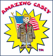 Casey is Kamaron Institute mascot character for bullying prevention program that promotes good character and citizenship