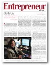 Entrepreneur Magazine feature story with business relationship expert, Margaret Ross